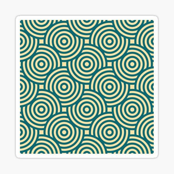 Seamless Circle Pattern Sticker