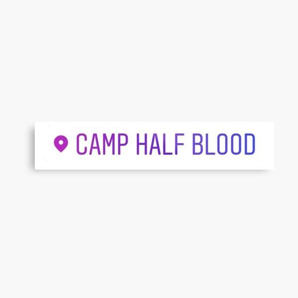 Camp Half Blood Location Tag Metal Print