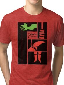 How Saul Bass Stole Christmas Tri-blend T-Shirt