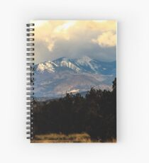 San Francisco Mountains Spiral Notebook