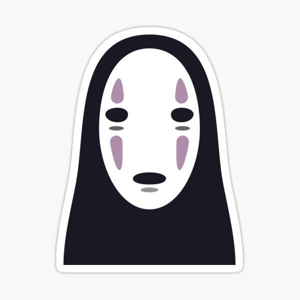 「Spirited Away」No Face Minimal Sticker Sticker
