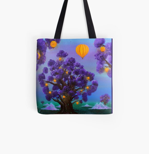 The Escape All Over Print Tote Bag