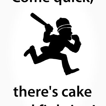 Come quick, there's cake and fighting! by Wilburino