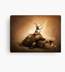 Knight of the Chinchilla Canvas Print