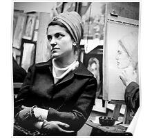 Greenwich Village Mona Lisa Poster