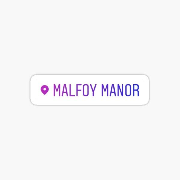 Malfoy Manor Location Sticker Sticker