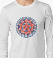 Frosted Cherry Blossom Long Sleeve T-Shirt