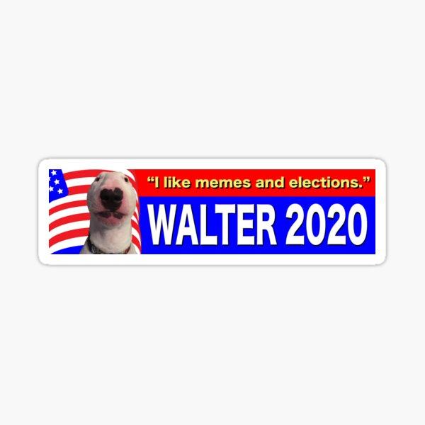 @PupperNelson: Walter 2020 Sticker