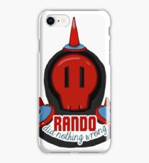 RANDO DID NOTHING WRONG – LISA THE PAINFUL RPG iPhone Case/Skin