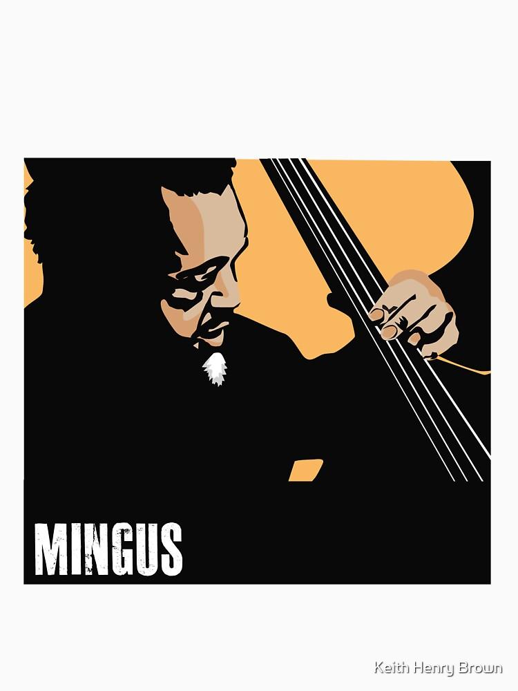 Charles Mingus by Keith H. Brown by Keithhenrybrown