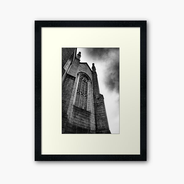 The Mither Kirk II Framed Art Print