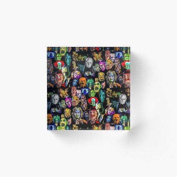 horror collection  Acrylic Block