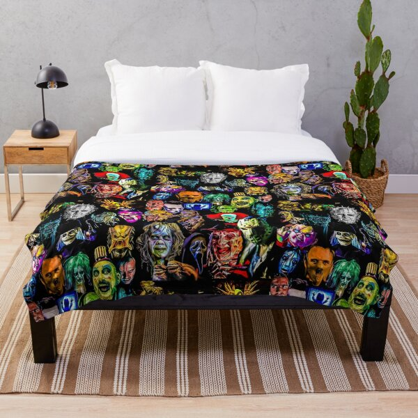 horror collection  Throw Blanket