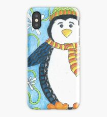 Pebble the Waddling Penquin iPhone Case