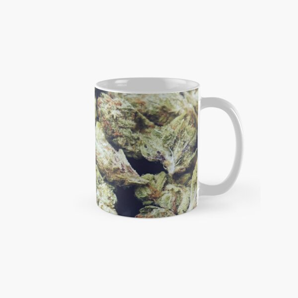 Little Buddy Marijuana Buds Cannabis Camo - Nature Prints Classic Mug