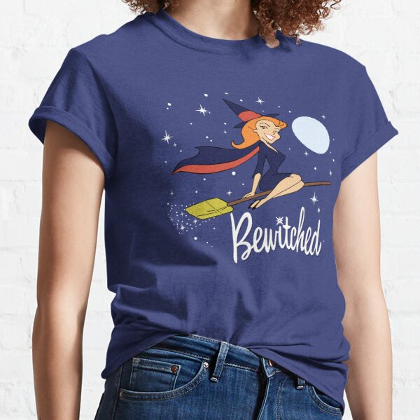 Bewitched Broom Shirt, Sticker, Mask Classic T-Shirt