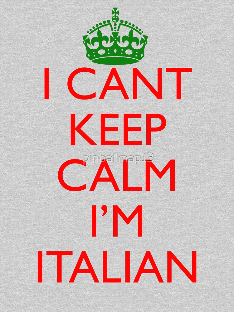 TShirtGifter presents: Italian Keep Calm   Unisex T-Shirt