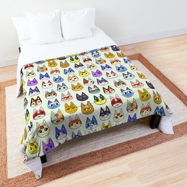 Animal Crossing Cats Comforter