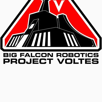 Project Voltes Dev Team Tee (Black Text) by Eozen