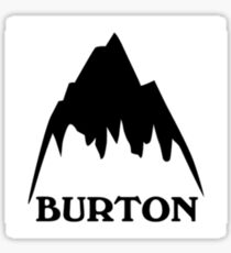 Burton Sticker