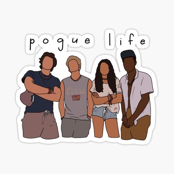 pogue life Sticker