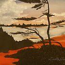 Paradise Sunset by Lorelle Gromus