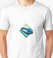 container ship diamond retro Unisex T-Shirt