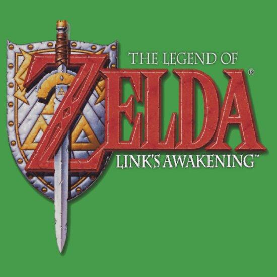 TShirtGifter presents: The Legend of Zelda - Link's Awakening
