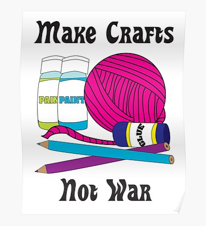 Make Crafts Poster