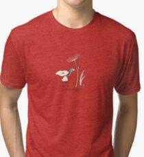 macro girl Tri-blend T-Shirt