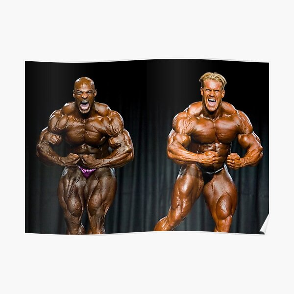 Ronnie Coleman VS Jay Cutler Poster