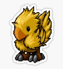 Pixelart Chocobo Sticker