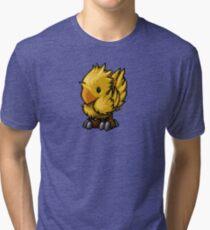 Pixelart Chocobo Tri-blend T-Shirt