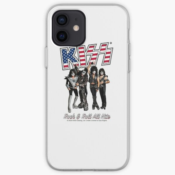 Kiss Rock and Roll all Night iPhone Soft Case