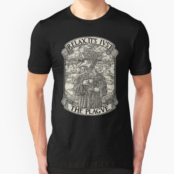 The Chillest Plague Doctor Slim Fit T-Shirt