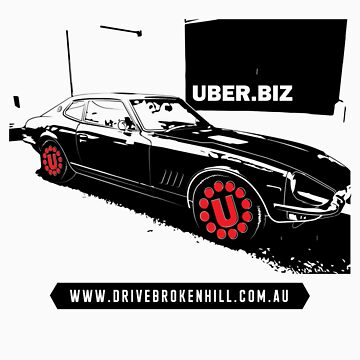 The Official 'Drive Broken Hill' T-Shirt by UberConsult