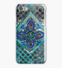 Temple Mirror Tiles iPhone Case/Skin