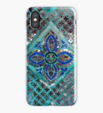 Temple Mirror Tiles iPhone Case/Skin