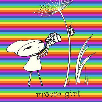 macro girl by blackbirdsong