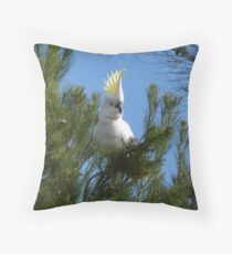 At Last! Caught on camera, our patch Adelaide Hills. S.A. Throw Pillow
