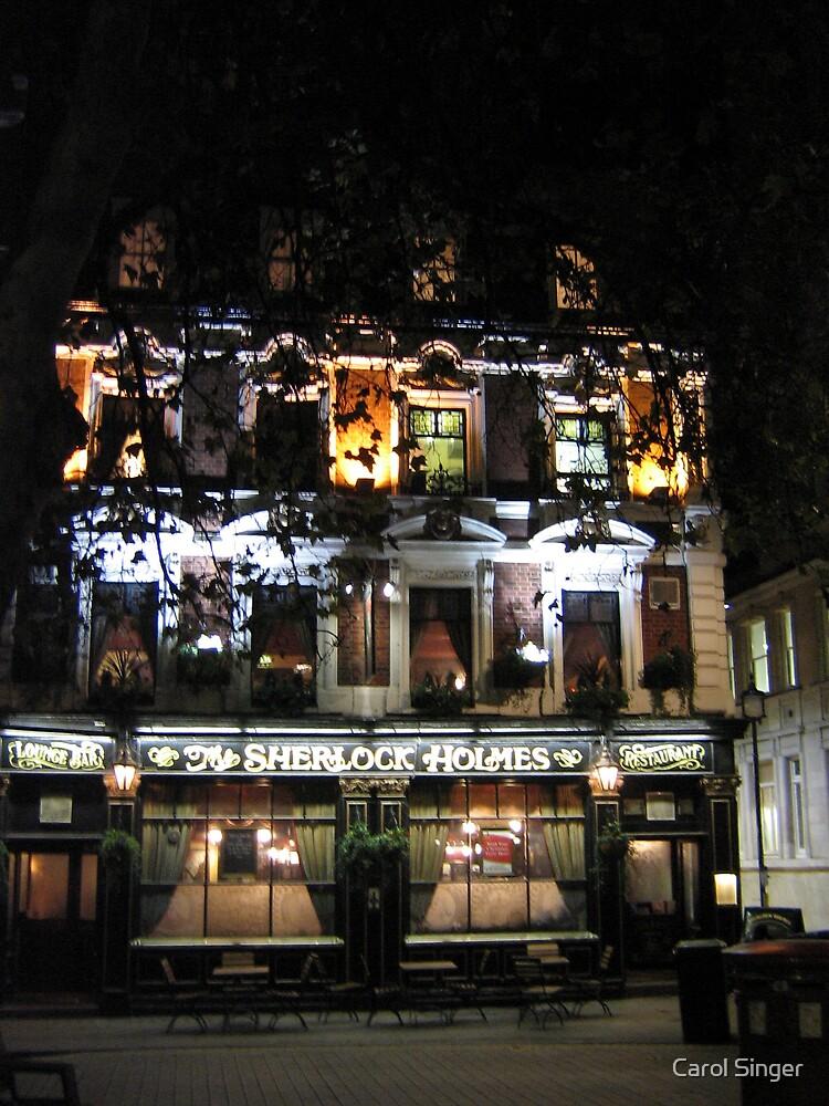 Sherlock Holmes Pub, London by Carol Singer