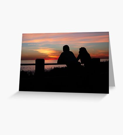 Together, End of Day ♥ Greeting Card