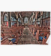 Ancient Lingfield Church Poster