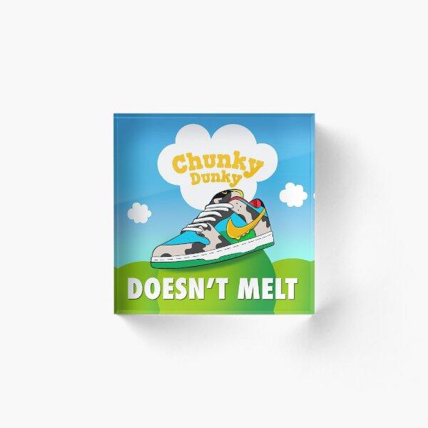 Chunky Dunky SB Dunk  Acrylic Block