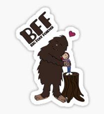 Big Foot Forever Sticker