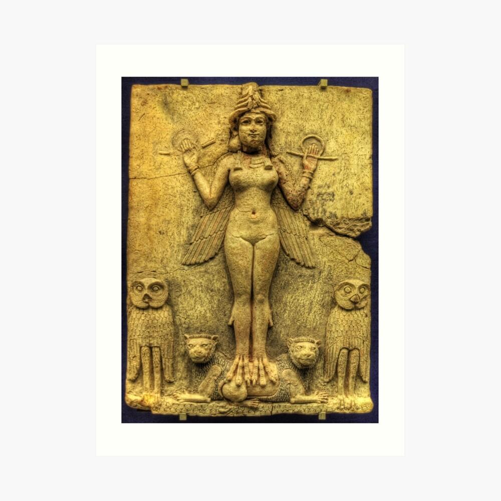 Ishtar Art Print