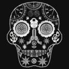 Steampunk Sugar Skull 2 by pwrighteous