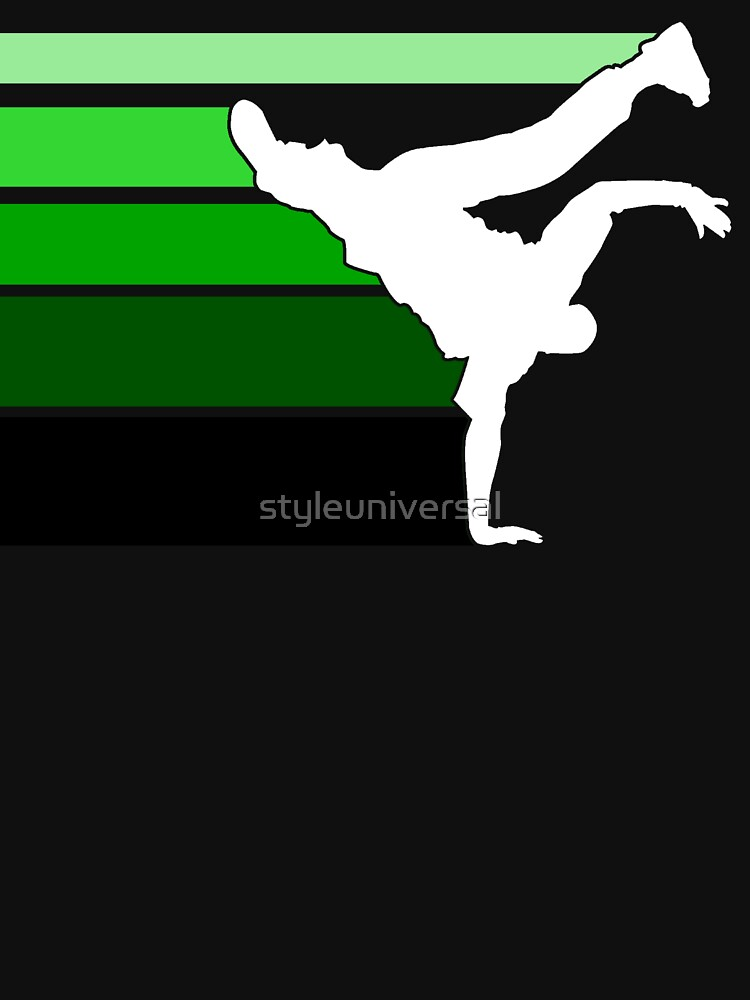 BBOY lines grn/wht by styleuniversal