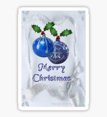 Christmas Ornaments (19921  Views) Sticker