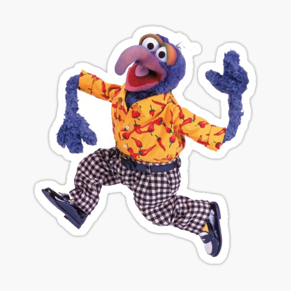 spicy gonzo chili peppers Sticker